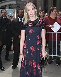 April 14, 2018 - New York City, New York, USA - 4/13/18.Emily Blunt at the Variety Power of Women Luncheon in New York City..(NYC) (Credit Image: © Starmax/Newscom via ZUMA Press)