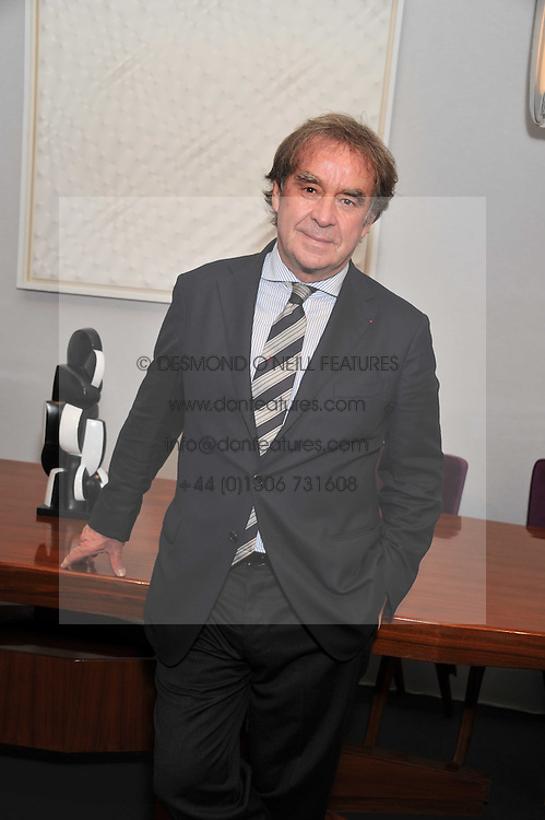 JEAN-MICHEL WILMOTTE at the judging of the Moet Hennessy PAD  London Prize 2011 as part of the Pavilion of Art & Design  held in Berkeley Square, London on 10th October 2011.