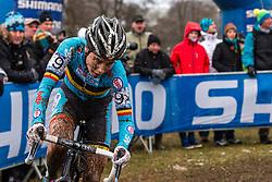 Sanne Cant (BEL), Women Elite, Cyclo-cross World Championships Tabor, Czech Republic, 31 January 2015, Photo by Pim Nijland / PelotonPhotos.com