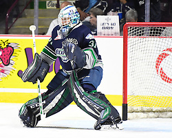 Rylan Toth of the Seattle Thunderbirds in Game 2 of the 2017 MasterCard Memorial Cup against the Erie Otters on Saturday May 20, 2017 at the WFCU Centre in Windsor, ON. Photo by Aaron Bell/CHL Images