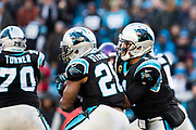December 10, 2017: Minnesota vs Carolina. Jonathan Stewart, Cam Newton