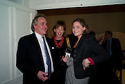 HENRY PORTER; JULIE PEYTON-JONES; CHARLOTTE PORTER; Vanity Fair, Baroness Helena Kennedy QC and Henry Porter launch ' The Convention on Modern Liberty'. The Foreign Press Association. Carlton House Terrace. London. 15 January 2009 *** Local Caption *** -DO NOT ARCHIVE-© Copyright Photograph by Dafydd Jones. 248 Clapham Rd. London SW9 0PZ. Tel 0207 820 0771. www.dafjones.com.<br /> HENRY PORTER; JULIE PEYTON-JONES; CHARLOTTE PORTER; Vanity Fair, Baroness Helena Kennedy QC and Henry Porter launch ' The Convention on Modern Liberty'. The Foreign Press Association. Carlton House Terrace. London. 15 January 2009