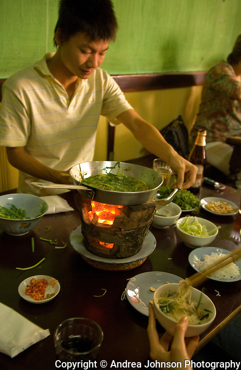 Cha Ca La Vong, one of Hanoi's oldest Vietnamese restaurants, Vietnam