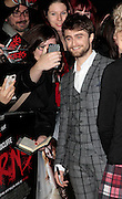 Oct 20, 2014 - 'Horns' UK Premiere<br /> Premiere of Daniel Radcliffe's new movie Horns which was held at Odeon West End, Leicester Square<br /> <br /> Pictured: Daniel Radcliffe<br /> ©Exclusivepix