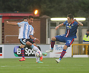 Luka Tankulic and Inverness Caledonian Thistle's Greg Tansey - Inverness Caledonian Thistle v Dundee, SPFL Premiership at Tulloch Caledonian Stadium<br /> <br />  - &copy; David Young - www.davidyoungphoto.co.uk - email: davidyoungphoto@gmail.com