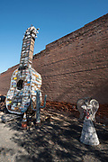 The Odessa Giant Guitar created by Nate Lathrop and Mark Allen, Odessa, Washington.