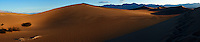 Early Morning Sand Dune Panorama. Composite of 4 images taken with a Nikon D3x and 45 mm f/2.8 PC-E lens (ISO 100, 45 mm, f/16, 1/60 sec). Images processed with Capture One Pro, Focus Magic, AutoPano Giga, NIK Color Efex Pro 2, and converted for web with Photoshop CS5.