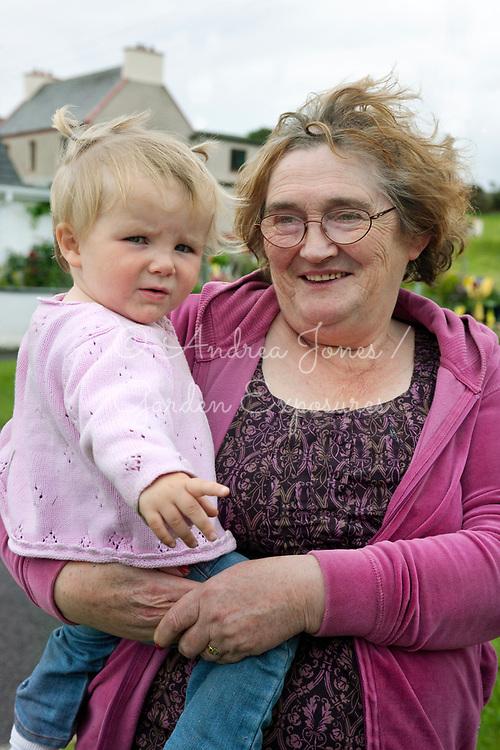 Teresa McGuire and grandaughter