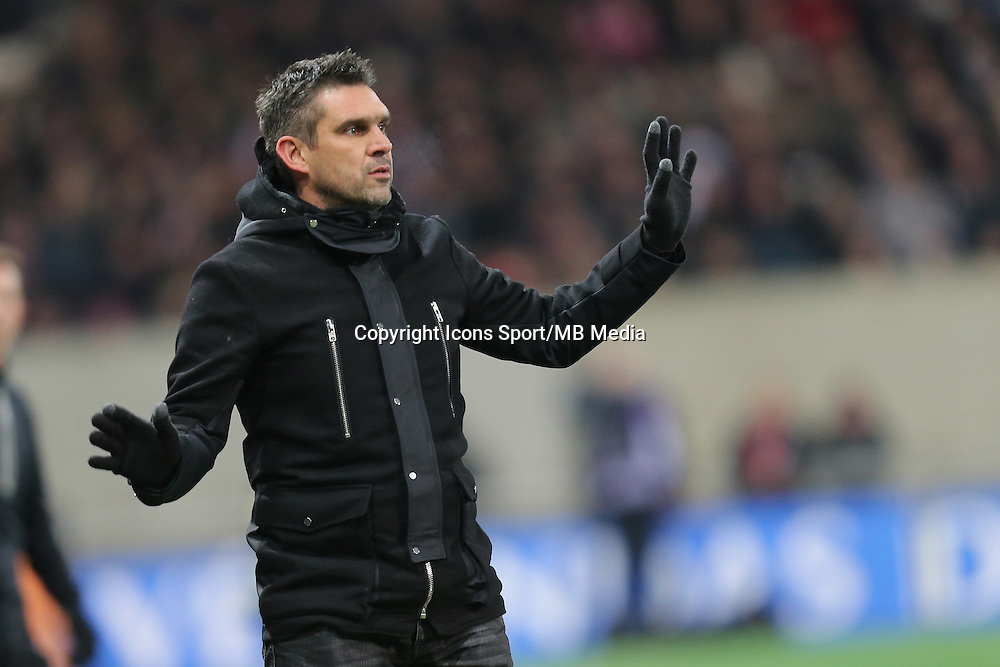 Jocelyn GOURVENNEC  - 24.01.2015 - Guingamp / Lorient - 22eme journee de Ligue1<br />