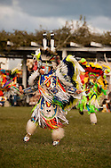 Powwow, kids, Rocky Boy Powwow, Fancy Dancer, Rocky Boy Indian Reservation, Montana.