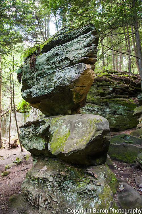 Ritchie Ledges in the Cuyahoga Valley National Park