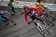Cruiser - 15 & 16 Men #96 (PONS Thomas) FRA at the 2018 UCI BMX World Championships in Baku, Azerbaijan.