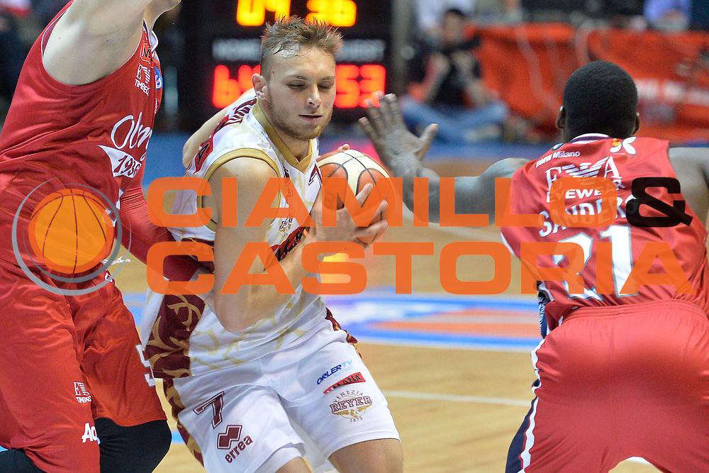Desio 21 Maggio  2016<br /> Play Off Basket campionato serie A1  2015/2016  EA7 Emporio Armani Milano Umana Reyer Venezia  Gara 2<br /> Nella Foto<br /> Foto Ciamillo