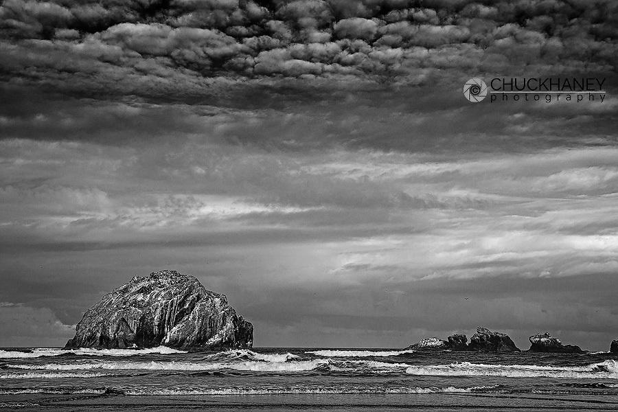 Face Rock at Bandon Beach in bandon, Oregon, USA