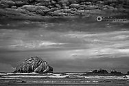 Face Rock at Bandon Beach in bandon, Oregon, USA