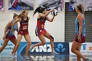 Tactix Kimiora Poi in action during the Southern Steel v Mainland Tactix, ANZ Netball Premiership, Edgar Centre, Dunedin, New Zealand. June 24, 2018. Copyright Image: Derek Morrison / www.photosport.nz