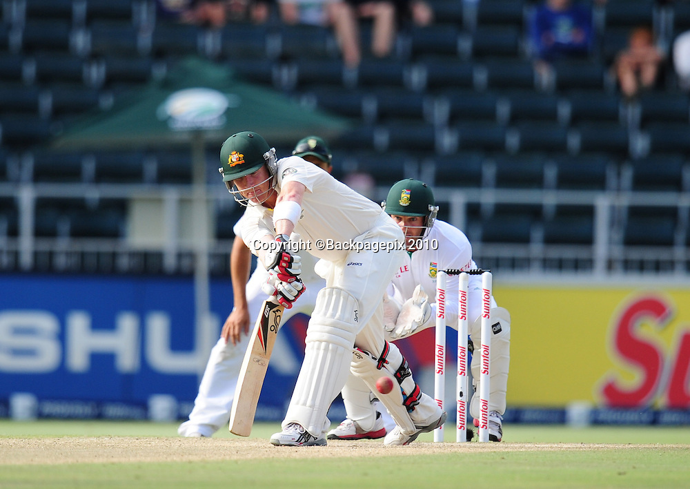 Brad Haddin of Australia, Cricket - 2011 Sunfoil Test Series - South Africa v Australia - Day 5 - Wanderers Stadium<br /> &copy;Chris Ricco/Backpagepix