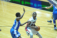 """Ole Miss' Danielle McCray (22) vs. Kentucky's Brittany Henderson (40) in women's college basketball at the C.M. """"Tad"""" Smith Coliseum in Oxford, Miss. on Thursday, February 28, 2013. Kentucky won 90-65."""