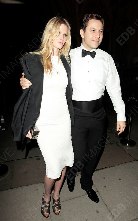 05.SEPTEMBER.2010. LONDON<br /> <br /> DAVID WALLIAMS AND LARA STONE ATTEND A PARTY TO CELEBRATE THE RECIVING OF BRITISH CITIZENSHIP FOR RUSSIAN NEWS PAPER MOGUL ALEXANDER LEBEDEV AT THE ROYAL COURTS OF JUSTICE IN THE STRAND.<br /> <br /> BYLINE: EDBIMAGEARCHIVE.COM<br /> <br /> *THIS IMAGE IS STRICTLY FOR UK NEWSPAPERS AND MAGAZINES ONLY*<br /> *FOR WORLD WIDE SALES AND WEB USE PLEASE CONTACT EDBIMAGEARCHIVE - 0208 954 5968*