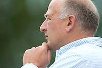 LAREN - 11/09/2011    Rotterdam coach Reinoud Wolff, zondag tijdens de Rabo hoofdklassewedstrijd tussen Laren en Rotterdam (2-0). Foto KNHB/Koen Suyk