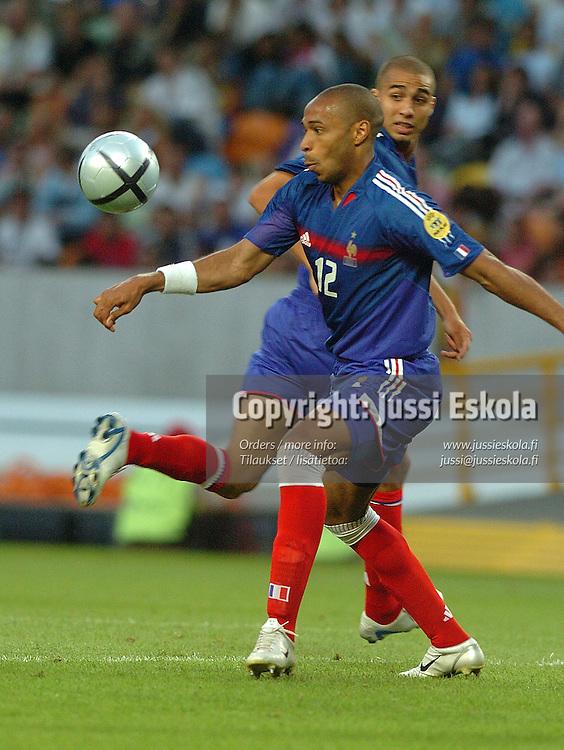 Thierry Henry, France-Greece 25.6.2004.&amp;#xA;Euro 2004.&amp;#xA;Photo: Jussi Eskola<br />