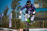 # 69 (GODET Damien) FRA at the UCI BMX Supercross World Cup in Santiago del Estero, Argintina.