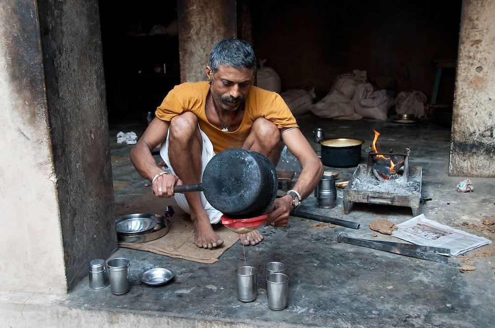 """Masala chai (literally """"mixed-spice tea"""") is a beverage from the Indian subcontinent made by brewing tea with a mixture of aromatic Indian spices and herbs."""
