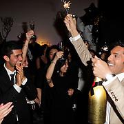 NLD/Amsterdam/20120204 - 30ste Verjaardag Richy Brown, Richy feestvierend