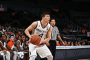 December 6, 2016: Dejan Vasiljevic #4 of Miami in action during the NCAA basketball game between the Miami Hurricanes and the South Carolina State Bulldogs in Coral Gables, Florida. The 'Canes defeated the Bulldogs 82-46.
