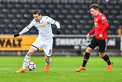 Adnan Maric of Swansea City in action - Mandatory by-line: Craig Thomas/Replay images - 18/03/2018 - FOOTBALL - Liberty Stadium - Swansea, England - Swansea City U23 v Manchester United U23 - Premier League 2 - Divison 1
