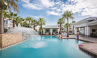 Lifestyle photo of the pool at Epic at Gateway Centre in St. Petersburg Florida by Jeffrey Sauers of Commercial Photographics, Architectural Photo Artistry in Washington DC, Virginia to Florida and PA to New England