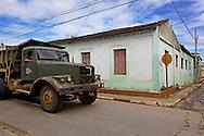 Russian truck in Baracoa, Guantanamo, Cuba.