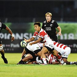 Shinobu Fujiwara of Japan during the U20 World Championship match between New Zeland and Japan on May 30, 2018 in Narbonne, France. (Photo by Alexandre Dimou/Icon Sport)