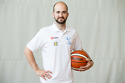 Matic Makuc of Slovenian Deaf Basketball team at media day, on June 13, 2016 in GIB Centre, Ljubljana, Slovenia. Photo by Vid Ponikvar / Sportida