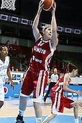 DESCRIZIONE : Riga Latvia Lettonia Eurobasket Women 2009 Qualifying Round Italia Turchia Italy Turkey<br /> GIOCATORE : Kristen Nevin Nevlin<br /> SQUADRA : Turchia Turkey<br /> EVENTO : Eurobasket Women 2009 Campionati Europei Donne 2009 <br /> GARA : Italia Turchia Italy Turkey<br /> DATA : 12/06/2009 <br /> CATEGORIA : rimbalzo<br /> SPORT : Pallacanestro <br /> AUTORE : Agenzia Ciamillo-Castoria/E.Castoria<br /> Galleria : Eurobasket Women 2009 <br /> Fotonotizia : Riga Latvia Lettonia Eurobasket Women 2009 Qualifying Round Italia Turchia Italy Turkey<br /> Predefinita :