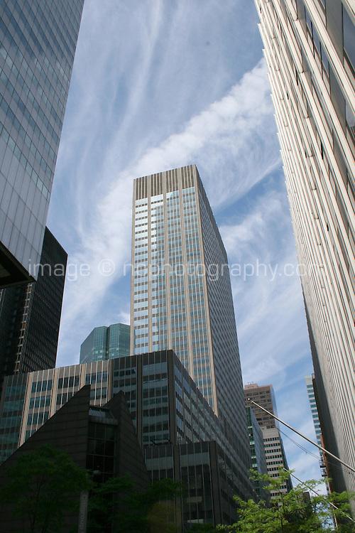Skyscrapers, Midtown, Manhattan, New York, USA