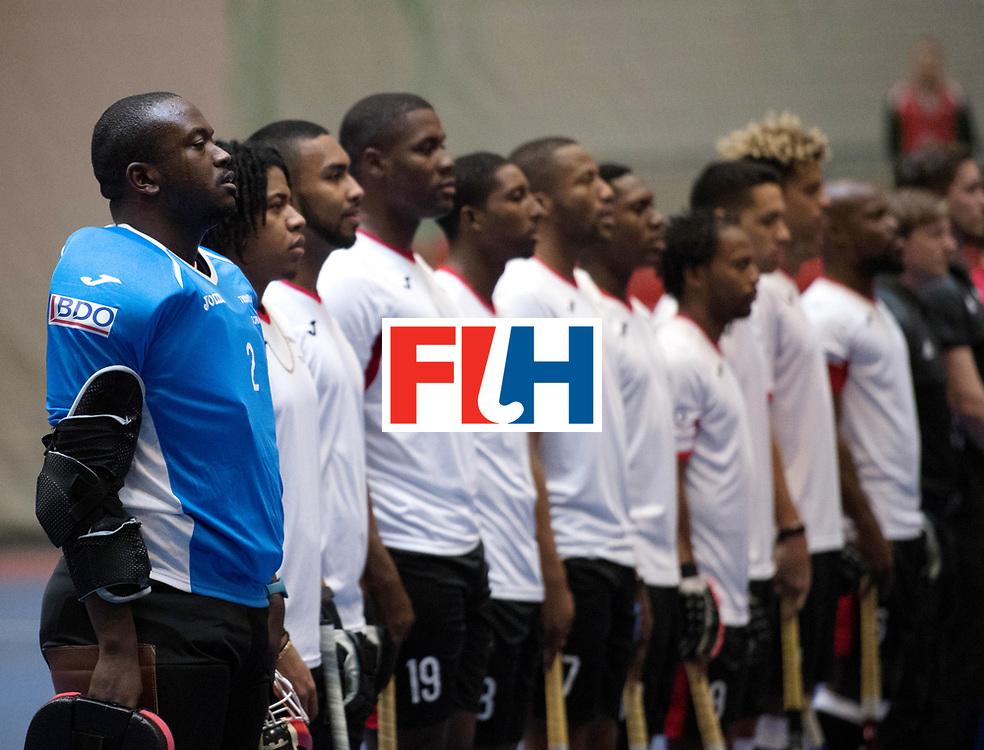 BERLIN - Indoor Hockey World Cup<br /> Czech Republic - Trinidad &amp; Tobago<br /> foto: Line Up<br /> WORLDSPORTPICS COPYRIGHT FRANK UIJLENBROEK