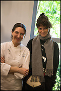 ELENA ARZAK; HELENA RIZZO, Veuve Clicquot World's Best Female chef champagne tea party. Halkin Hotel. Halkin St. London SW1. 28 April 2014.