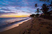 Sunrise, Hauula Beach, Oahu, Hawaii