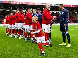 Mascots - Rogan/JMP - 30/11/2019 - Ashton Gate Stadium - Bristol, England - Bristol City v Huddersfield Town - Sky Bet Championship.
