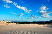 sand dune of cumbuco in ceara state brazil