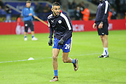 Leicester City midfielder Riyad Mahrez  during the Barclays Premier League match between Leicester City and Manchester City at the King Power Stadium, Leicester, England on 29 December 2015. Photo by Simon Davies.
