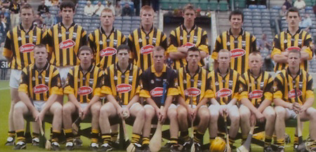All Ireland Senior Hurling Championship - Final,.14092003AISHCF,.14.09.2003, 09.14.2003, 9th September 2003,.Senior Kilkenny 1-14, Cork 1-11,.Minor Kilkenny 2-16, Galway 2-15,.FETAC,.Kilkenny, C.Grant, J Dalton, J Tennyson, S Cadigan, D Cody, D Prendergast, P O'Donovan, P Hartley, M Fennelly, E McGrath, R Power, A Healy, M Nolan, J Fitzpatrick, E Guinan, Subs, A Murphy for McGrath, R Wall for Healy, D McCormack for Hartley,