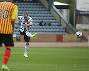 James McPake fires a shot just wide - Dundee v Partick Thistle, SPFL Premiership at Dens Park<br /> <br />  - &copy; David Young - www.davidyoungphoto.co.uk - email: davidyoungphoto@gmail.com