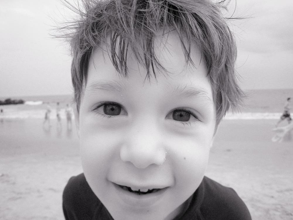 Closeup portrait of Eli.