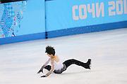 "Yuzuru Hanyu (JPN), <br /> FEBRUARY 14, 2014 - Figure Skating : <br /> Men's Free Skating <br /> at ""ICEBERG"" Skating Palace <br /> during the Sochi 2014 Olympic Winter Games in Sochi, Russia. <br /> (Photo by YUTAKA/AFLO SPORT) [1040]"