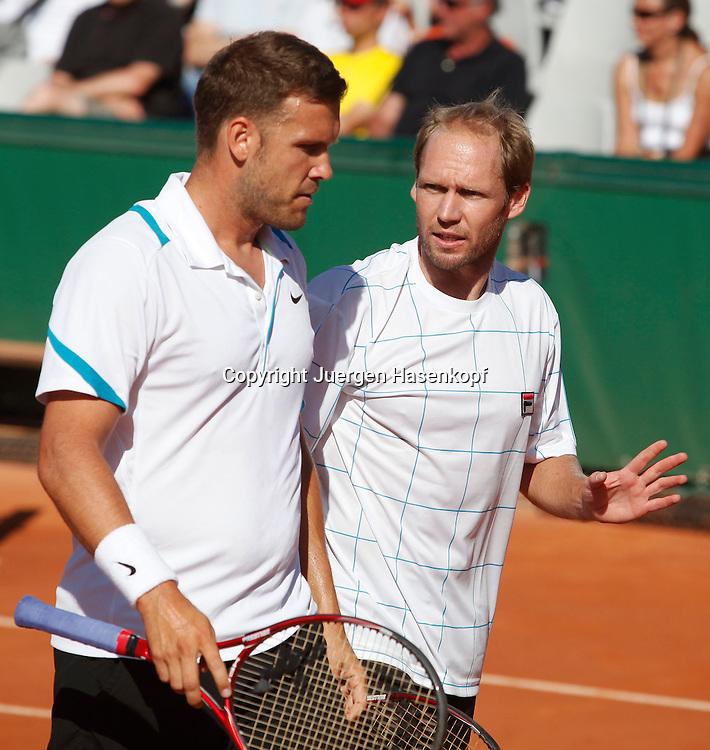 French Open 2011, Roland Garros,Paris,ITF Grand Slam Tennis Tournament , Doppel, Alexander Waske und Rainer Schuettler (beide GER),