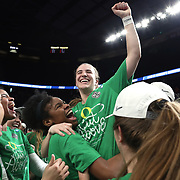 March 31, 2019; Portland, OR, USA;  in the Elite Eight of the NCAA Women's Tournament at Moda Center.<br /> Photo by Jaime Valdez