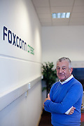 Bill Campbell - Vice President of European Operations - at the  Pardubice branch in Czech Republic. Foxconn Technology Group, is a multinational electronics contract manufacturing company headquartered in New Taipei, Taiwan. Foxconn is the world's largest electronics contractor manufacturer, and the third-largest information technology company by revenue.