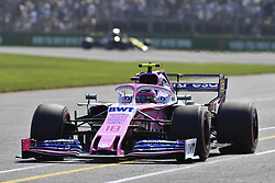March 16, 2019 - Melbourne, Australia - Motorsports: FIA Formula One World Championship 2019, Grand Prix of Australia, ..#18 Lance Stroll (CAN, Racing Point F1 Team) (Credit Image: © Hoch Zwei via ZUMA Wire)